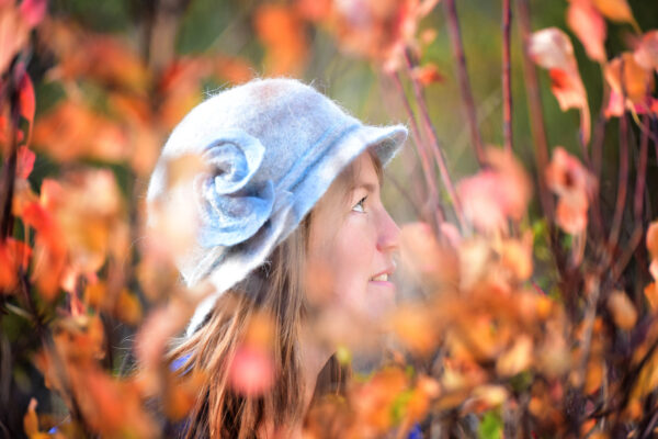 Chapeau feutre féminin